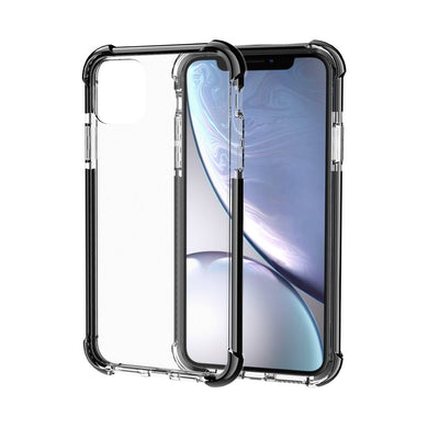 AMZER SlimGrip Bumper Hybrid Case for iPhone 11 Pro - Black - fommystore