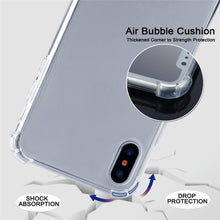 Load image into Gallery viewer, AMZER Pudding TPU Soft Skin X Protection Case With Lanyard for iPhone 11 Pro Max - Clear - fommystore