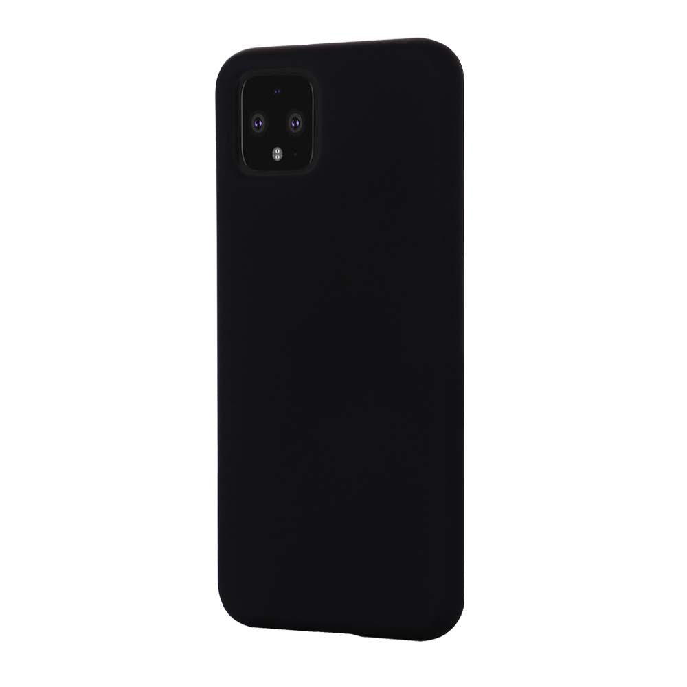 AMZER Shockproof Silicone Skin Jelly Case for Google Pixel 4XL - Black - fommystore