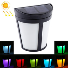 Load image into Gallery viewer, AMZER IP65 Waterproof 6 LEDs Colorful Changing Solar Powered LED Wall Lamp - fommystore