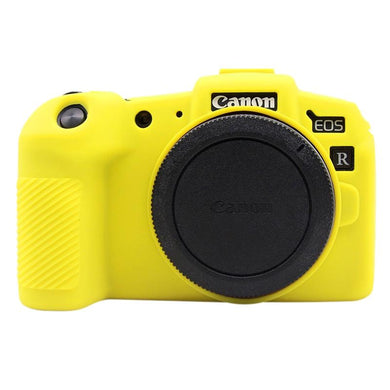AMZER Soft Silicone Protective Case for Canon EOS RP - Yellow - fommystore