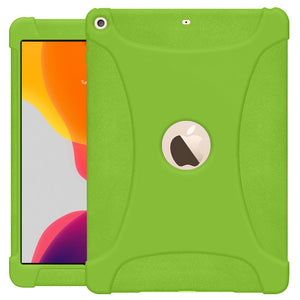 AMZER Shockproof Rugged Silicone Skin Jelly Case for Apple iPad 10.2