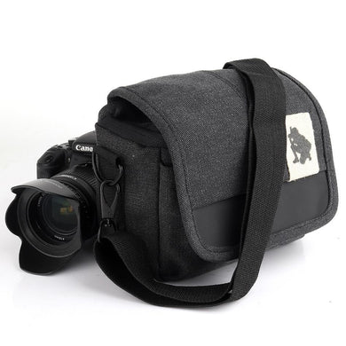 Universal Canvas DSLR Camera Shoulder Bag | camera accessories | Amzer