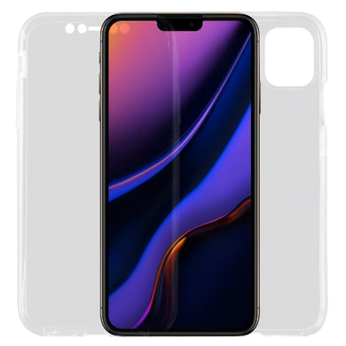 Ultra-thin Double-sided Full Coverage Transparent TPU Case for iPhone 11 Pro