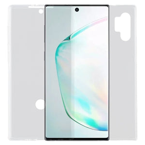 Ultra-thin Double-sided Full Coverage Transparent TPU Case for Samsung Galaxy Note10+/ Plus