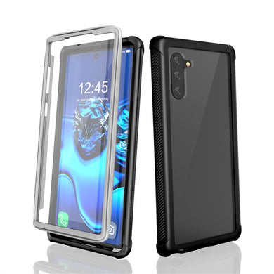 Shockproof Ultra-Thin Hybrid TPU + PC Protective Case - Black for Samsung Galaxy Note 10