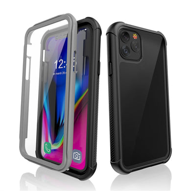 Shockproof Ultra-Thin Hybrid TPU + PC Protective Case - Black for Apple iPhone 11 Pro