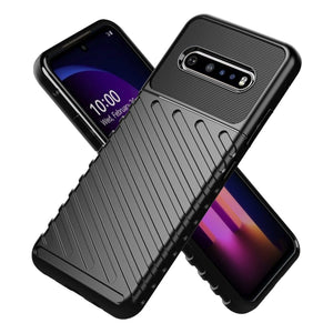 AMZER Rugged Armor ShockProof TPU for LG V60 ThinQ
