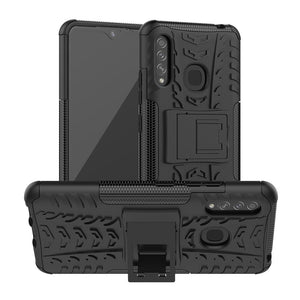 AMZER Hybrid Warrior Kickstand Case for Samsung Galaxy A70e
