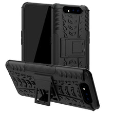 Load image into Gallery viewer, AMZER Hybrid Warrior Kickstand Case for Samsung Galaxy A80
