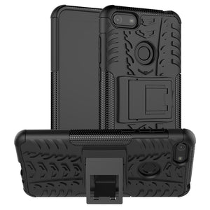 AMZER Hybrid Warrior Kickstand Case for Motorola E6 Play