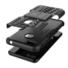 Load image into Gallery viewer, AMZER Hybrid Warrior Kickstand Case for Motorola E6 Play