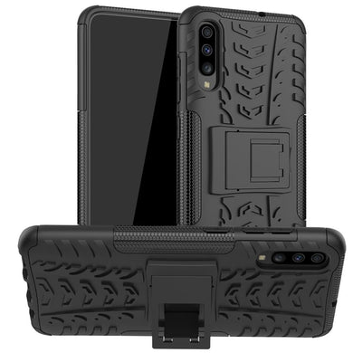 AMZER Hybrid Warrior Kickstand Case for Samsung Galaxy A70s