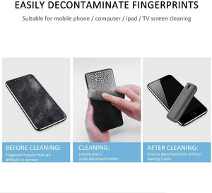 AMZER ALL-IN-ONE Screen Cleaner Microfiber Sponge For Smartphone & Tablet Random Color