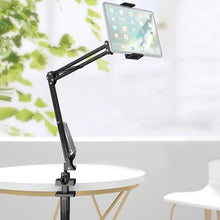 Load image into Gallery viewer, Amzer Folding Bracket Adjustable Holder Stand for 4 - 12.9 Inch Smartphone, iPad, Tablet