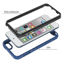Load image into Gallery viewer, AMZER SlimGrip Bumper Hybrid Hard Shockproof Case for iPod Touch 5 / 6 / 7 - Blue
