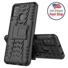 Load image into Gallery viewer, AMZER Hybrid Warrior Kickstand Case for Samsung Galaxy M30s