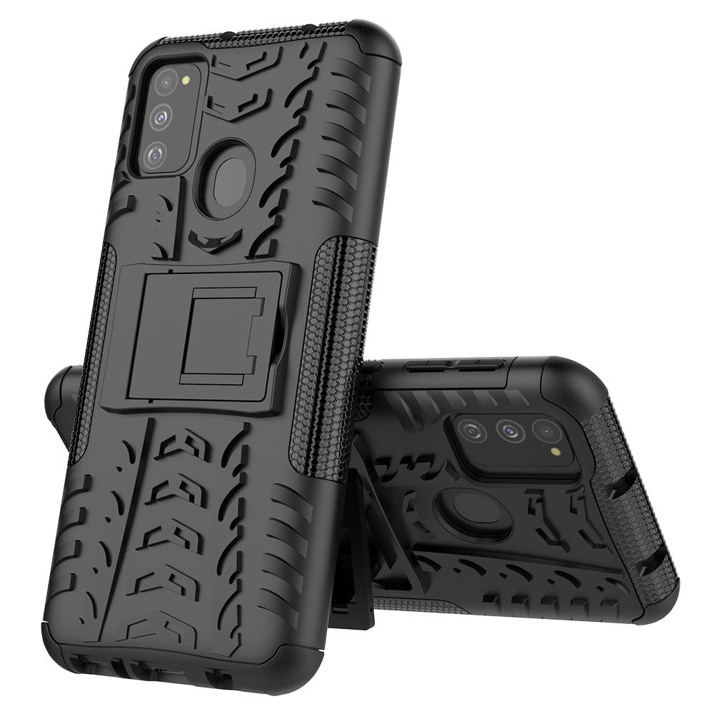 AMZER Hybrid Warrior Kickstand Case for Samsung Galaxy M31