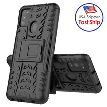 Load image into Gallery viewer, AMZER Hybrid Warrior Kickstand Case for Samsung Galaxy M31
