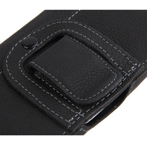 AMZER Universal Horizontal Leather Case with Belt Clip for SmartPhone Upto 4.7 Inch