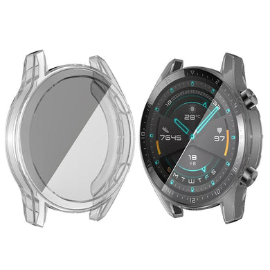 AMZER Shockproof Cover TPU Watch Case for Huawei Watch GT2 46mm - Clear