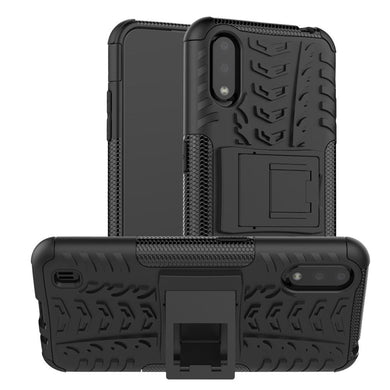 AMZER Hybrid Warrior Kickstand Case for Samsung Galaxy A01