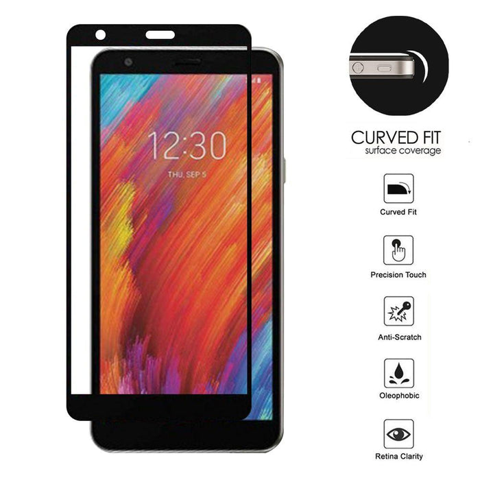 AMZER Kristal Edge2Edge Tempered Glass for LG Aristo 4 Plus