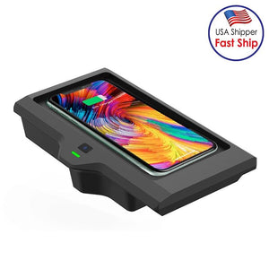 AMZER Car Qi Standard Wireless Charger 10W Quick Charging for BMW X3, BMW X4 (2018-2020)