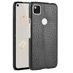AMZER Shockproof TPU Case With Texture for Google Pixel 4a - Black