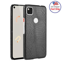 Load image into Gallery viewer, AMZER Shockproof TPU Case With Texture for Google Pixel 4a - Black