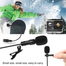 Load image into Gallery viewer, Yanmai R955 Clip-on Lapel Mic Lavalier Omni-directional Double Condenser Microphone