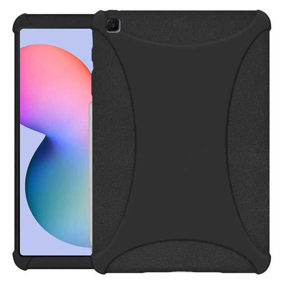 AMZER Shockproof Rugged Silicone Skin Jelly Case for Samsung Galaxy Tab S6 Lite 10.4 Inch