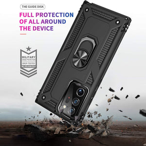 AMZER Sainik Case With 360° Magnetic Ring Holder for Samsung Galaxy Note20 Ultra
