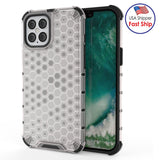 Honeycomb SlimGrip Hybrid Bumper Case for iPhone 12 mini