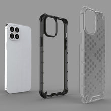 Load image into Gallery viewer, AMZER Honeycomb SlimGrip Hybrid Bumper Case for iPhone 12 Pro Max