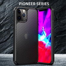Load image into Gallery viewer, AMZER SlimGrip Carbon Fiber Texture Ultra Hybrid Case for Apple iPhone 12