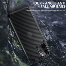 Load image into Gallery viewer, AMZER SlimGrip Carbon Fiber Texture Ultra Hybrid Case for Apple iPhone 12 Pro Max