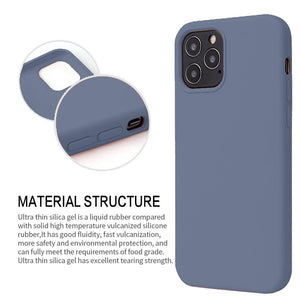 AMZER Silicone Skin Jelly Case for iPhone 12 mini