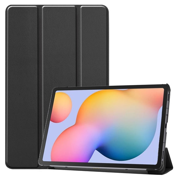 Flip Leather Case with 3-folding Holder for Samsung Galaxy Tab