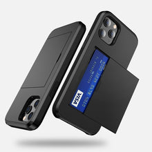Load image into Gallery viewer, AMZER Hybrid Credit Card Case With Holster for iPhone 12 Pro Max