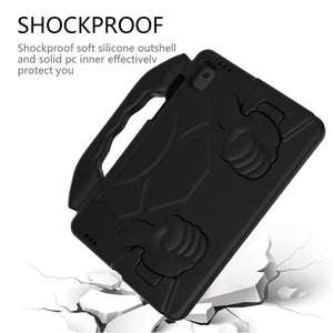 AMZER Shockproof Hybrid Protective Shell Case with Handle for Samsung Galaxy Tab S6 Lite P610