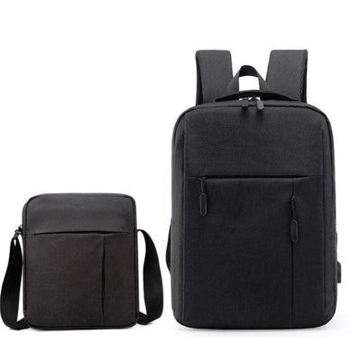 Men Travel Portable Backpacks |   Shoulder Bags Set Student School Bag  |  Amzer