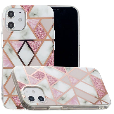 AMZER Marble Design Soft TPU Protective Case for iPhone 12 mini