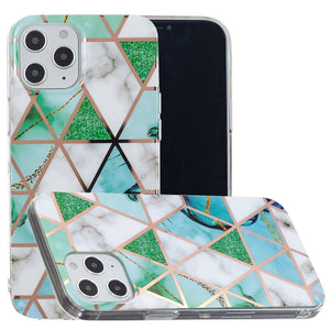 AMZER Marble Design Soft TPU Protective Case for iPhone 12