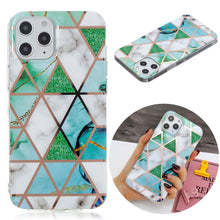 Load image into Gallery viewer, AMZER Marble Design Soft TPU Protective Case for iPhone 12
