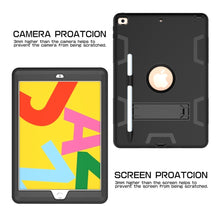 Load image into Gallery viewer, AMZER Shockproof PC + Silicone Protective Case with Holder & Pen Slot for iPad 10.2/iPad 8th Generation 10.2 inch