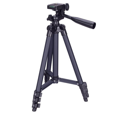 AMZER  Lightweight Camera Mount Tripod Stand - Adjustable Height 34-103Cm