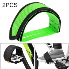 Load image into Gallery viewer, AMZER Bicycle Pedals Bands Feet Set With Anti-slip Straps Beam Foot - 2 PCS