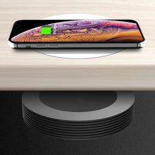 Load image into Gallery viewer, AMZER Desktop Hidden Charging Wireless Charging for iPhone and other Android Smart Phones