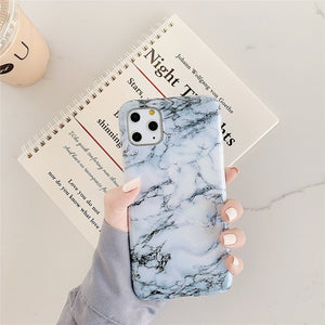 AMZER Marble IMD Soft TPU Protective Case for iPhone 11